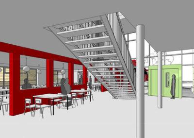 Neubau einer Mensa mit 4 Klassenräumen