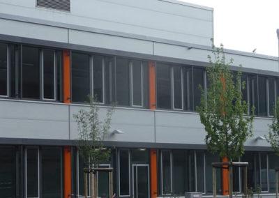Neubau Sozialgebäude am Stahlwerk SZAG
