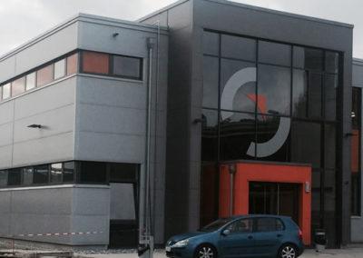 Neubau Gemeinschaftswaschkaue am Stahlwerk SZFG